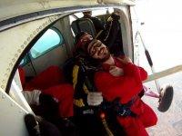 降落伞跳跃+穆尔西亚的视频和照片