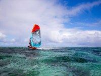 Windusrf en Bahía de Fornells