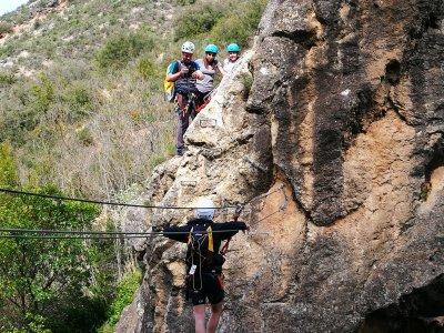 Vía Ferrata de iniciación en Sierra de Guara