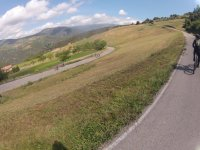 Caminos de montana en bici