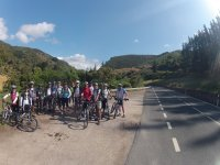 Gran grupo ciclista