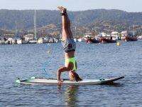 Relajación en paddle surf