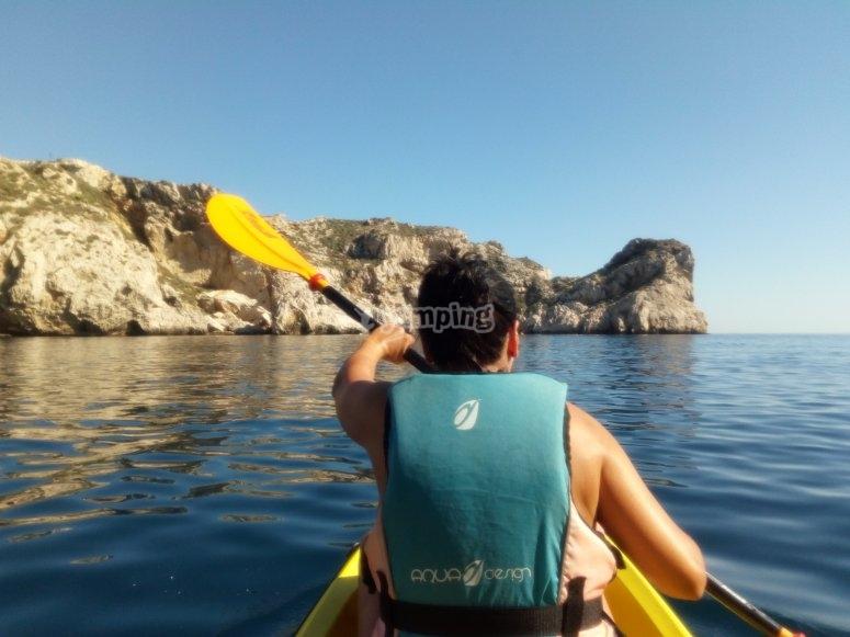 ruta en kayak islas medas