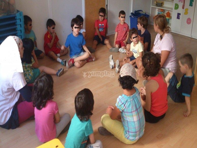 Actividades del campamento de dia