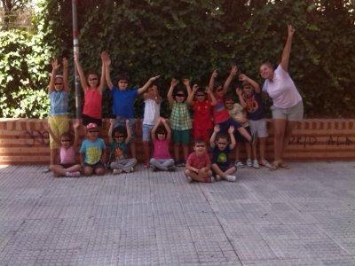 Campamento urbano inglés Arganzuela julio