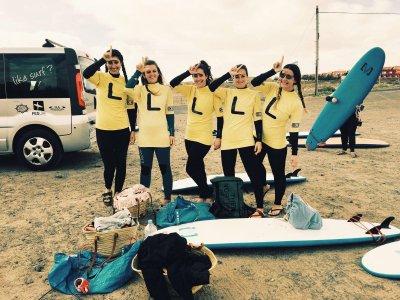 Curso de surf de 1 día en Fuerteventura