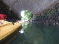 tunel para lago