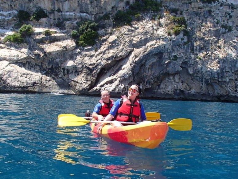 Ruta en el kayak