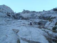 Ascension de escalada