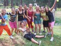 Actividades en el campamento