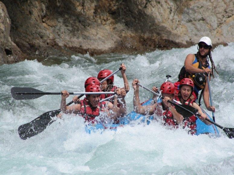 Vive el rafting