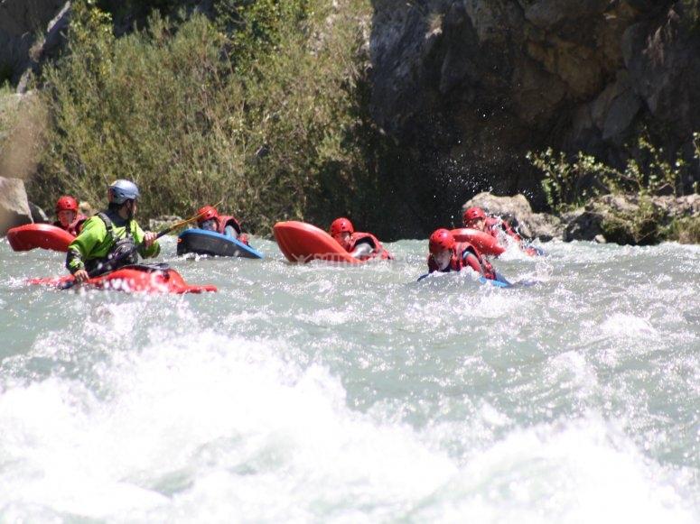 En aguas rapidas