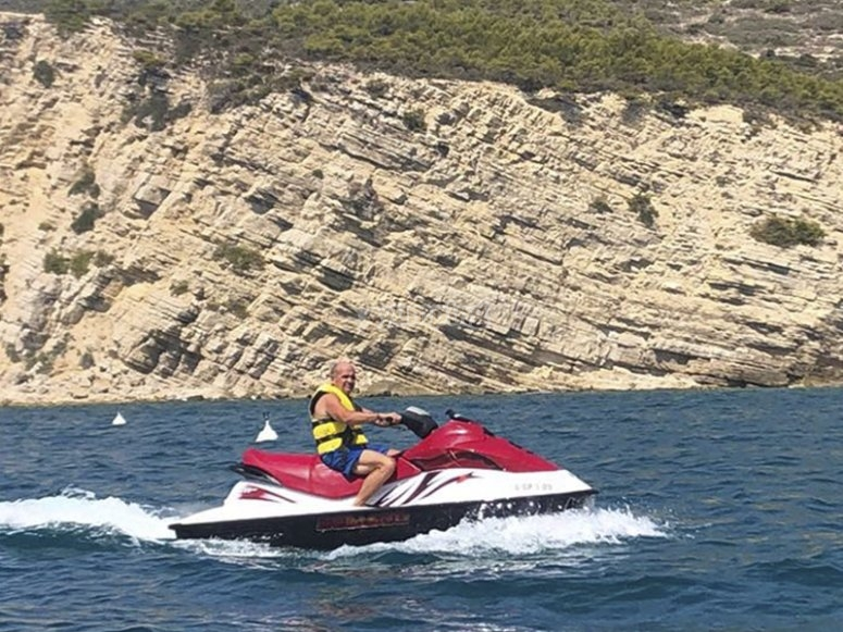 Alla scoperta di Peñíscola con le moto d'acqua