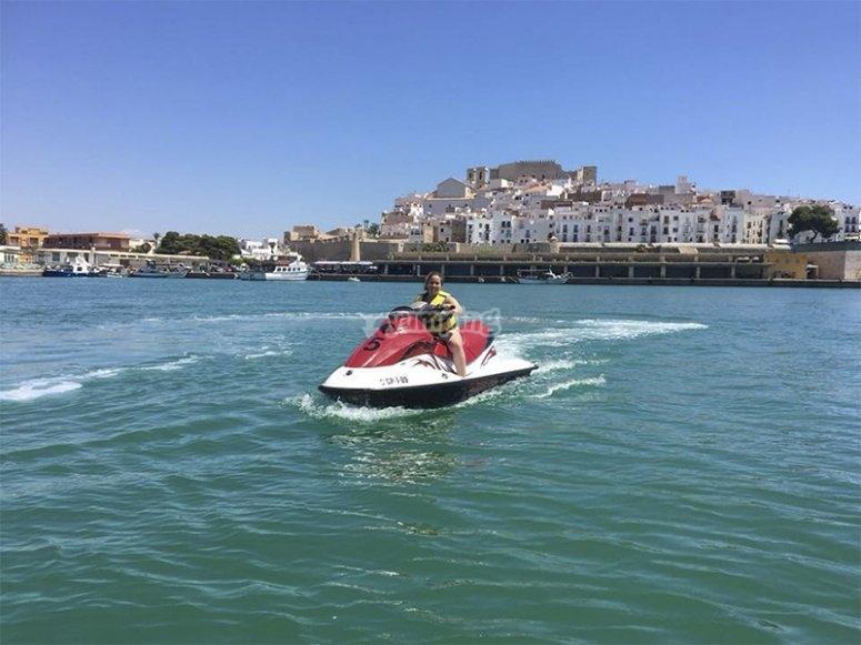 Conoscere la Costa de Azahar su una moto d'acqua