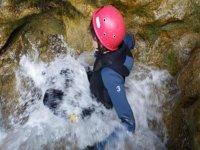 Scivolando con l'aiuto dell'acqua