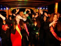 Girls in the party boat
