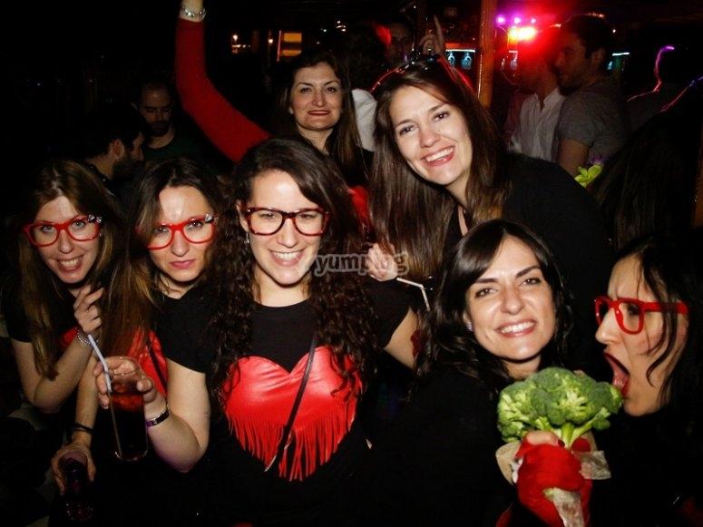 女孩单身聚会