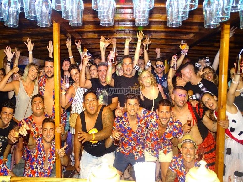在马洛卡的单身聚会