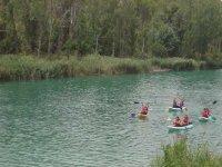 Itinéraires de kayak avec des amis