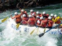Rafting in Cortijos Nuevos