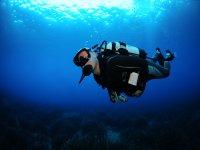 Ibiza padi open water course 18 mt