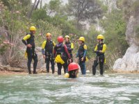 Canyoning in Hoz del Jucar Ravine