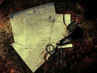 mapa brujulas y gps