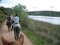 A caballo en el entorno de Ruidera