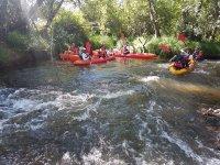 Gite in kayak a due mari