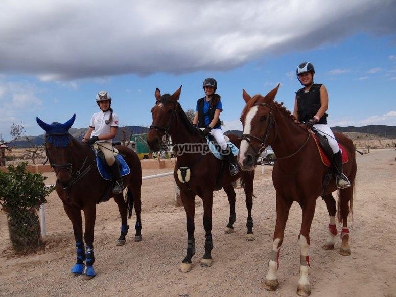 Girl riders