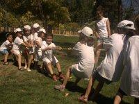Juegos en el campamento