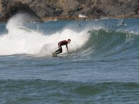 Surf in the river of Urdaibai
