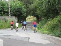 All-terrain bike route