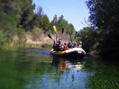 Descenso de rafting en el Cabriel tramo Cuchillos