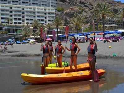 Alquiler de kayak doble, playa de Mogán o Taurito