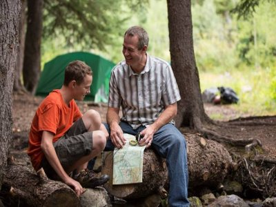 Campamento para padres e hijos, 3 días