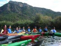 Descenso en piragua en el río Cabriel, 2 horas