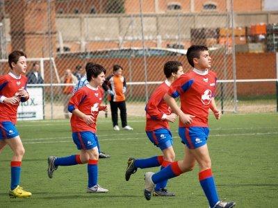 Campus de fútbol en Melgar de Fernamental 8 días