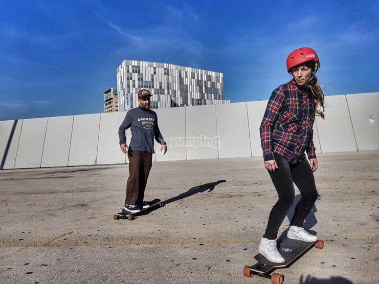 Sesion de skate
