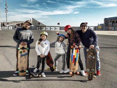 卡萨尔夏季滑板滑板车BMX和滑冰巴塞罗那