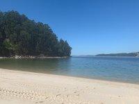 Beach in Pontevedra