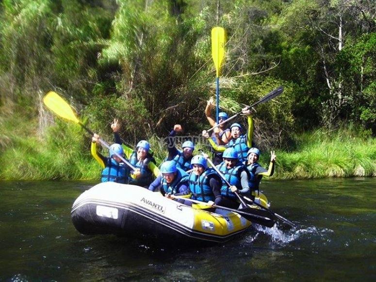 Barranquismo y rafting