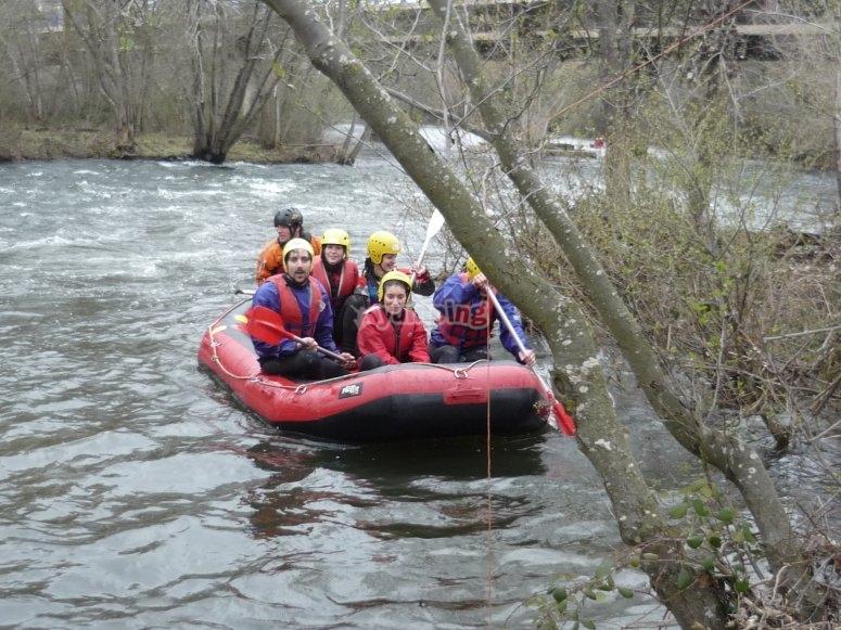 Rafting en el Alto Tormes