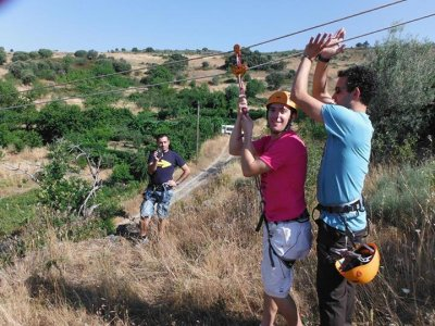 Rafting+Zipline, Salamanca & 2-Nights In A Cottage