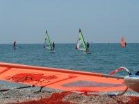 Bautismo de windsurf