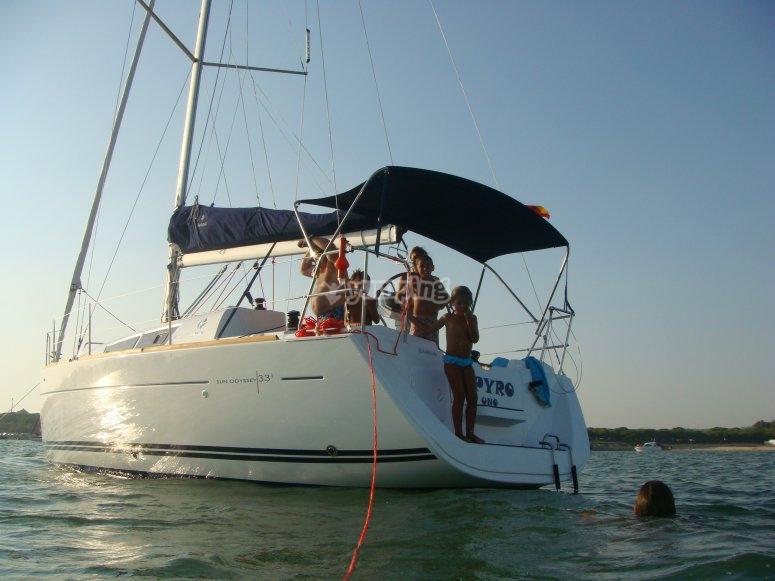 Navegando en Cádiz
