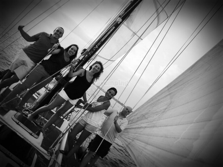 穿越加的斯的帆船