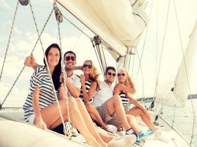 Salida en barco por la bahía de Cádiz 6 horas