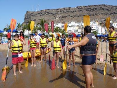 Campamento multiaventura en Galdar 10 días