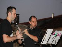 Flute and clarinet